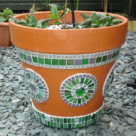 very cool and funky bright coloured mosaic planter with 4159 best images about mosaic pots vases planters urns on