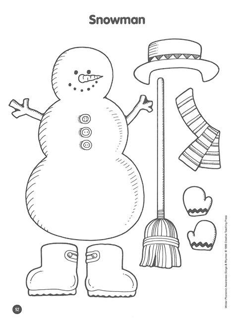 printable christmas listening activities free activity dress the snowman free activities