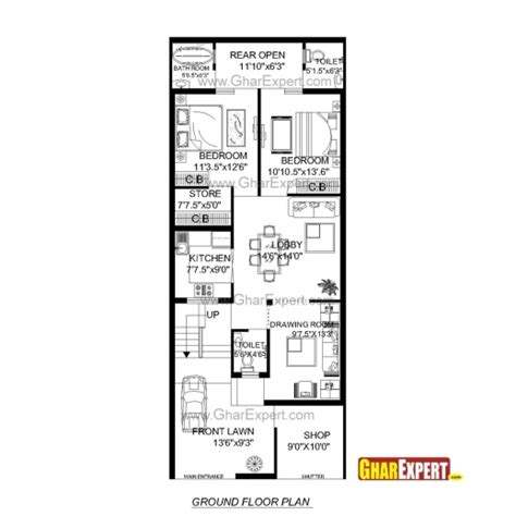 50 Square Feet by 50 Sq Yard Home Design 28 Images House Plan For 30 By
