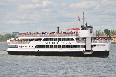 boat cruise nyc statue of liberty statue of liberty cruise vs staten island ferry