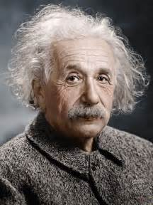 albert einstein in color albert einstein