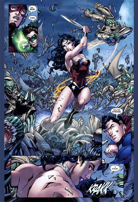 Kaos Justice League Dc 3 Batman Superman Wonderwoman superman and s meeting new 52 comicnewbies