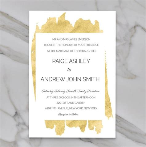 Wedding Invitation Templates Modern by Modern Invitation Template Chatterzoom