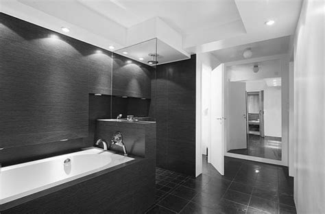 Modern Black And White Bathrooms Trending Ideas For Black And White Bathroom Tiles Bathroom Design Ideas Interior Design Ideas