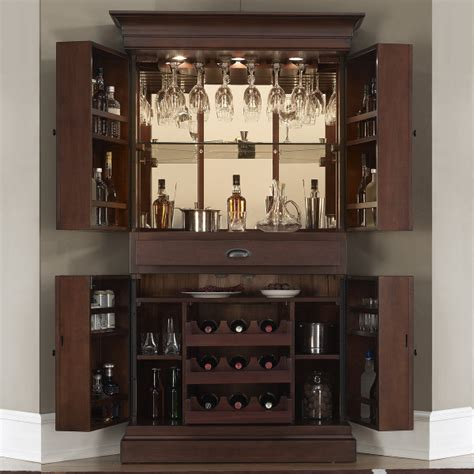wine bar cabinet by american heritage family