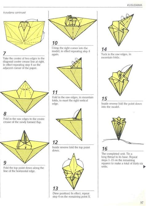 How To Make Japanese Origami - kusudama