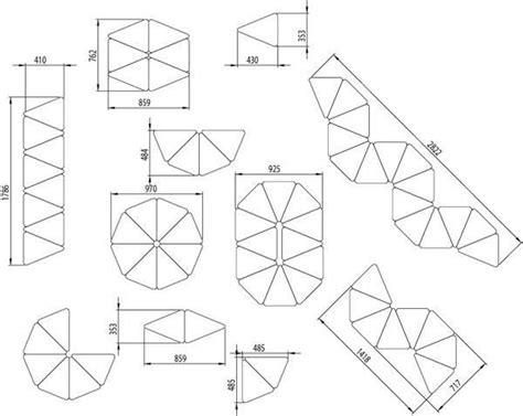 log triangular modular table fractals 25 best ideas about modular furniture on pinterest