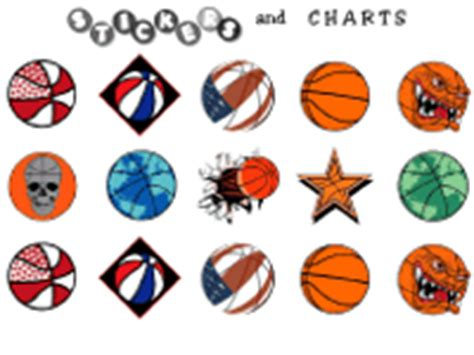 printable basketball stickers free printable basketball stickers and basketball printables