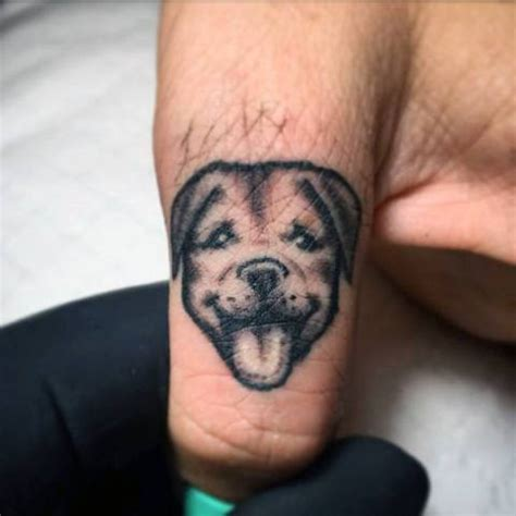 small dog tattoos 21 cool ideas for guys styleoholic
