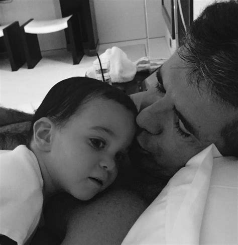 simon cowell and lauren silverman leave baby eric at home simon cowell shares new photos of little boy eric on twitter