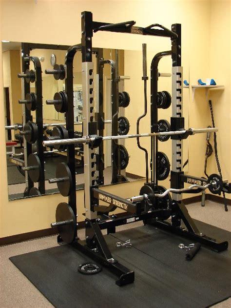 Half Rack Fitness Gear by Hammer Strength Half Rack Hammer Strength