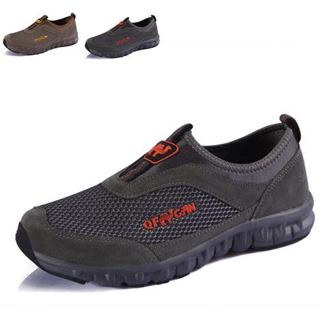 slip on athletic shoes mens brand camel s outdoor light breathable walking shoes