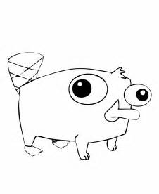 perry platypus free coloring pages art coloring pages