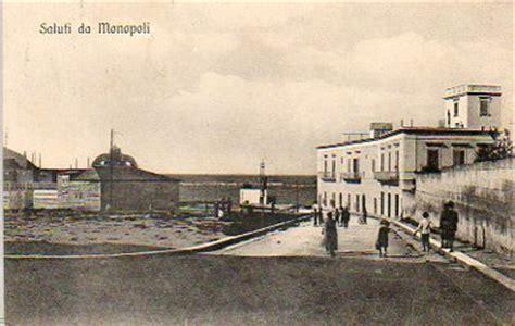 ufficio postale mola di bari monopoli bari cartoline d epoca