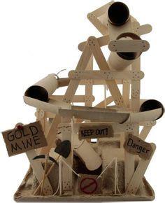 design brief for a mine shaft knikkerbaan altijd leuk maar zelf maken met materialen