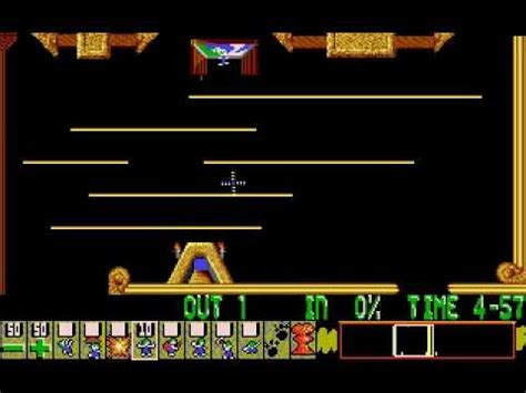 Blockers Songs Lemmings Pc Dos Level 03 Tailor Made For Blockers