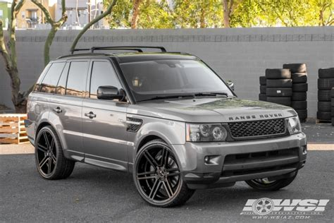 2011 range rover sport wheels 2011 land rover range rover sport with 24 quot gianelle