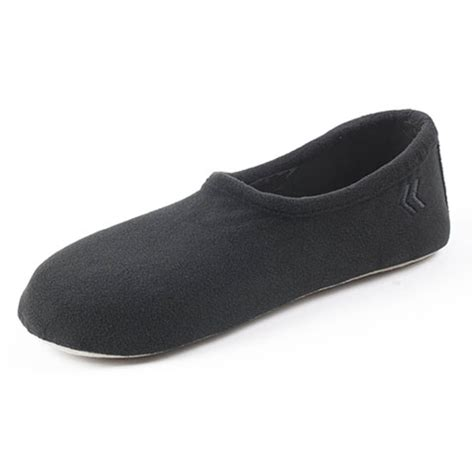 mens isotoner slippers isotoner s classic fleece slippers