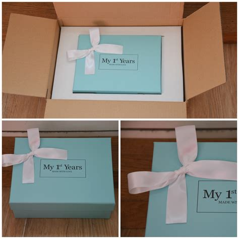big box open during new year my 1st years personalised pink newborn gifts set review