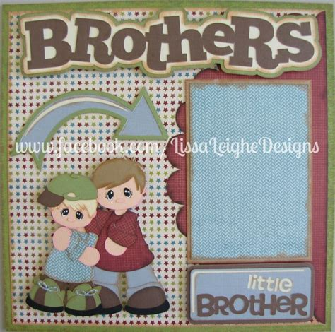 brothers scrapbook layout more info on my page www 44 best images about treasure box designs silhouette cameo