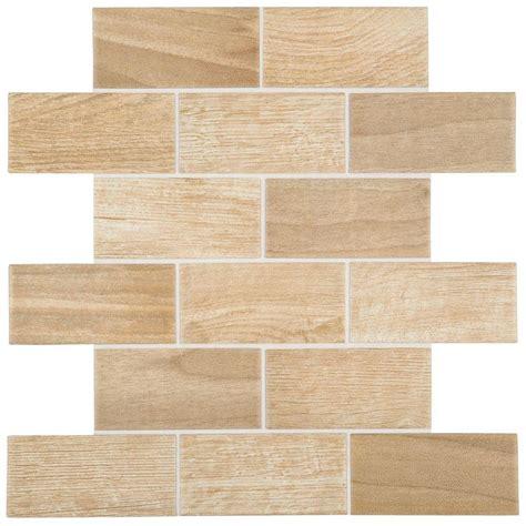 daltile parkwood beige 12 in x 12 in x 6 mm ceramic