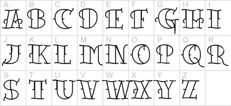 traditional tattoo lettering alphabet tattoo today s old tattoo font