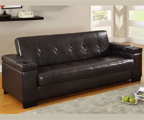 Futon Bed With Storage by Logan Adjustable Sofa Bed Futon With Storage