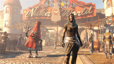 in fallout 4 check out fallout 4 s dlc in commentated nuka world