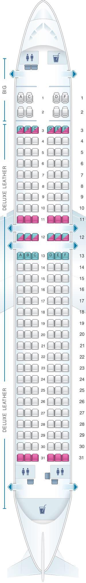 seat map spirit airlines airbus  pax seatmaestro