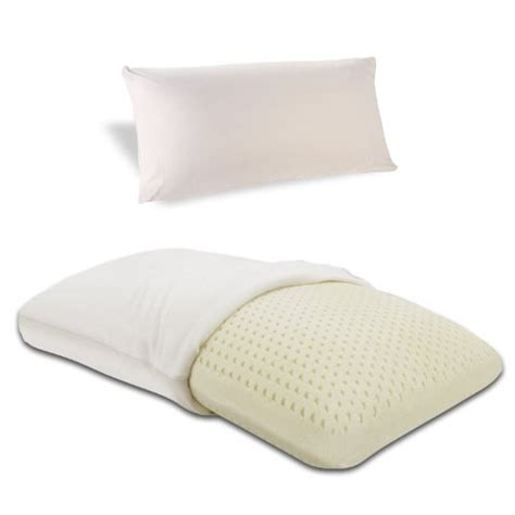 foam rubber bed pillows classic brands embrace firm latex pillow 100 percent