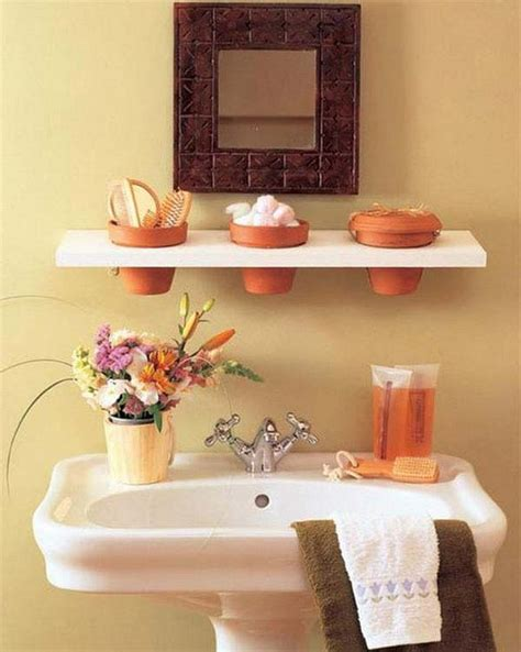bathroom shelf idea 30 brilliant diy bathroom storage ideas amazing diy