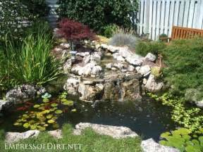 Landscaping Ideas Medium Sized Backyards 17 Beautiful Backyard Pond Ideas For All Budgets