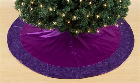 purple christmas tree skirt related keywords suggestions