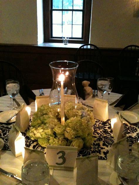 hurricane centerpiece floral and hurricane centerpiece hurricane lantern