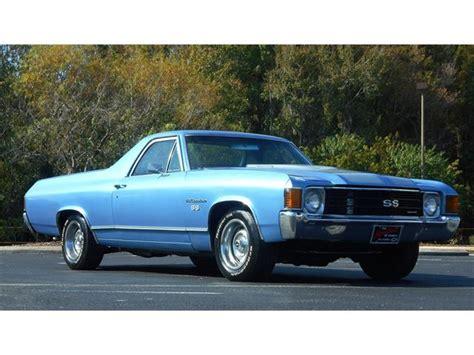 1972 el camino 1972 chevrolet el camino for sale on classiccars 24