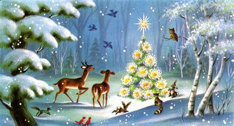 christmas fascinating animals