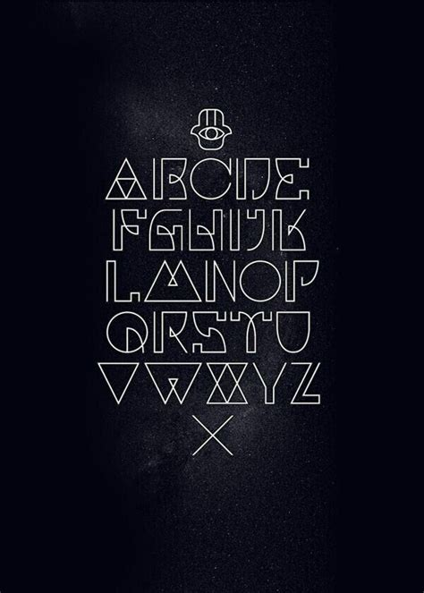 geometric tattoo letters 1000 ideas about typography tattoos on pinterest