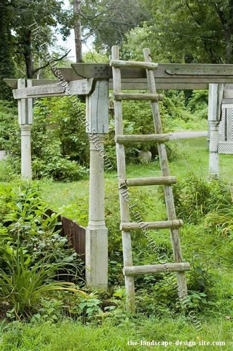 Garden Wooden Accessories 1000 Images About Garden Ladders On
