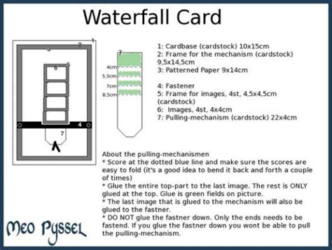 waterfall card template draw so 20 best waterfall cards images on waterfall