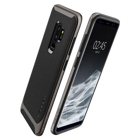 Spigen Galaxy S9 Neo Hybrid Gunmetal Soft Tpu Pc Bumper Original spigen neo hybrid samsung galaxy s9 plus gunmetal