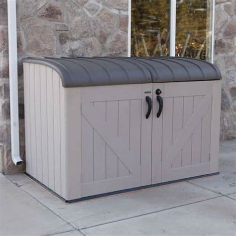 lifetime horizontal shed model    costco