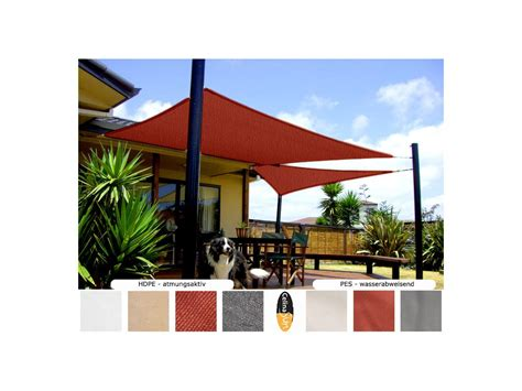 sonnenschutz garten sonnensegel sonnenschutz beschattung segel garten terrasse