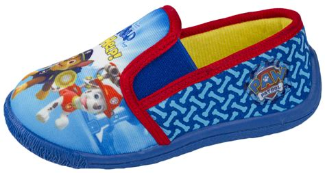 paw patrol slippers boys paw patrol slippers character mules shoes