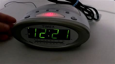 timex alarm clock soothing nature sleep sounds