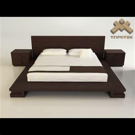 zen bedroom furniture bedroom suite zen 2 3d model by trimitek new tiny