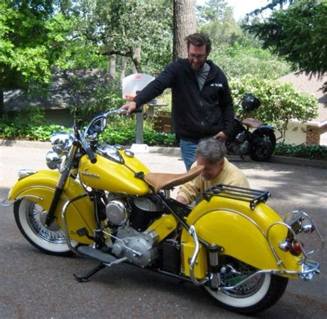 Indian Motorrad 1950 by 1950 Yellow Indian Chief Indian Motorcycles
