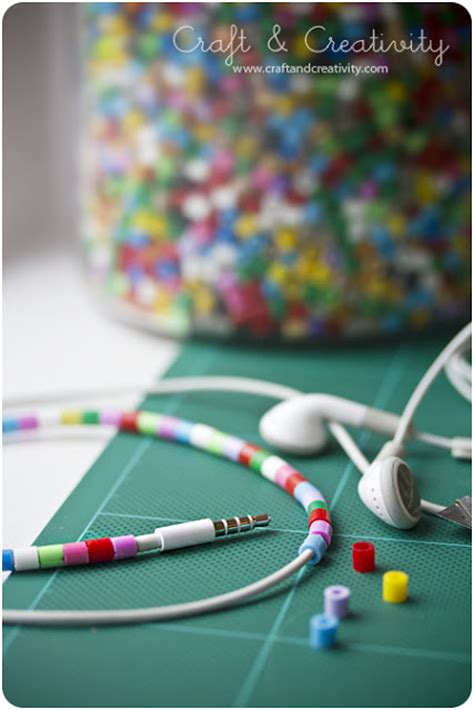 Decorated Earbuds by Be Different Act Normal Decorate Your Earbuds