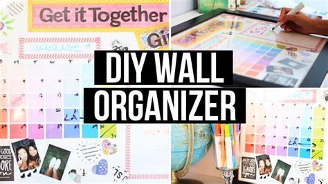 Diy Bedroom Decorating Ideas For Teens Diy Wall Organizer Amp Back 2 Giveaway Laurdiy