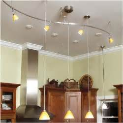 kitchen track lighting casual cottage