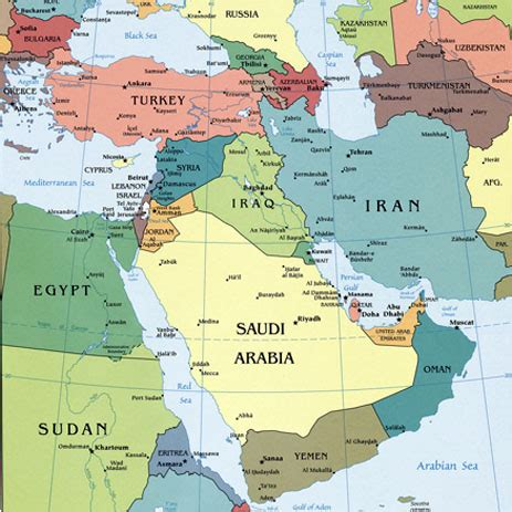 middle east map united states us plans to surge presence across middle east